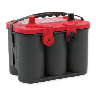 Optima red batteri